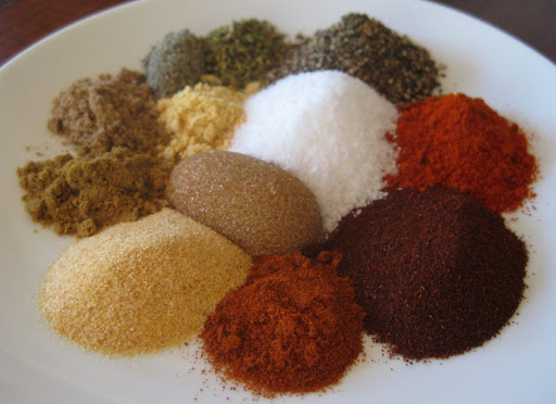 Spices for the Pork Butt Rub