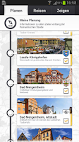 Screenshot of Travel Guide - Romantic Street