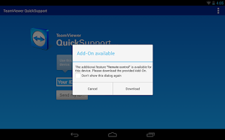 Screenshot of QS Add-On: Alcatel (e)