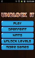 Screenshot of Unblock It - PRO