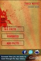 Screenshot of Tough Guy Facts