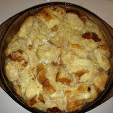 Arline's Simple & Light Bread Pudding