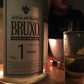 Mezcal  by Arnaud rL - Food & Drink Alcohol & Drinks ( iphoneography, mezcal, night )