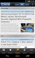 Screenshot of Australian Tech - Newsfusion