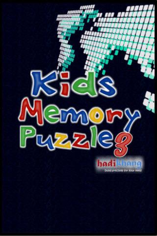 Kids Memory Puzzle 3