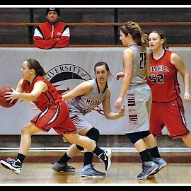 UIndy VS William Jewell womens Basketball 9 by Oscar Salinas - Sports & Fitness Basketball