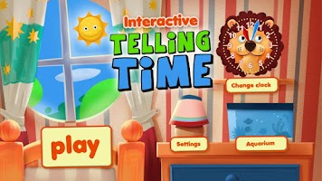 Screenshot of Interactive Telling Time Free