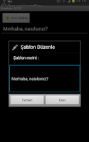 Screenshot of SMS Gönderiyorum - Toplu Mesaj
