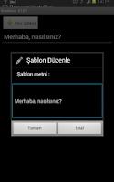 Screenshot of SMS Gönderiyorum - Toplu Mesaj