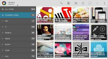 Screenshot of Tiny Tiny RSS | News+