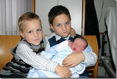 Alle drei Brüder zusammen