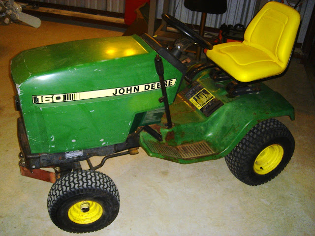 Why Spend over $1,000 for a tug device? Craigslist is filled with serviceable lawn tractors that can be pressed into service as an airplane tug.