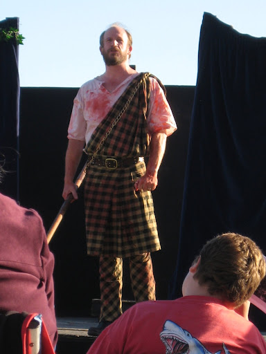 Travis Terry as Macbeth