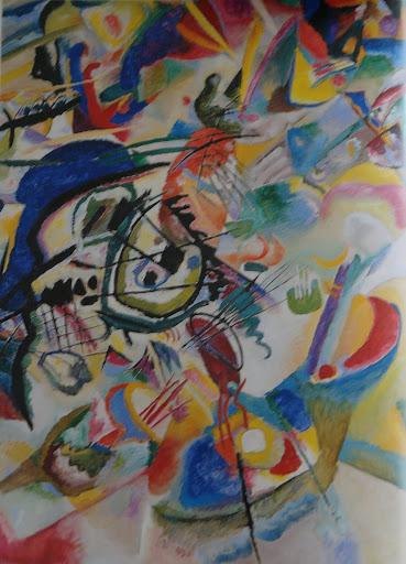 Pintura Rusa - Constructivismo - Cubo Futurismo