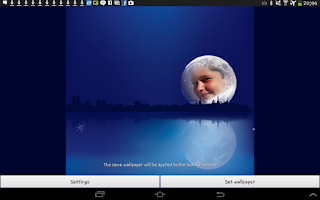Screenshot of Moonlight Live Wallpaper