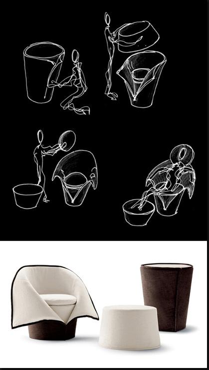 fauteuil strip