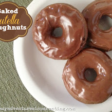 Baked Nutella Doughnuts