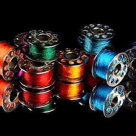 Little Colorful Bobbins by Rakesh Syal - Artistic Objects Other Objects (  )