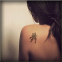 Handwriting Chinese tattoo pro icon