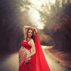 Shawnessy Ransom Photography © 2014 by Shawnessy Ransom - People Maternity ( mommy to be, maternity, red, baby on board )