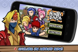 Screenshot of Ninja Saga