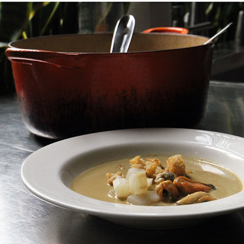 Mussel and Salsify Soup