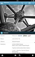 Screenshot of Brussels Travel Guide Triposo