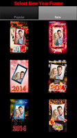 Screenshot of New Year Frames