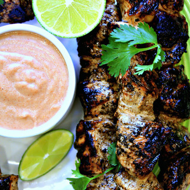 Ginger Soy Chicken Skewers | Thai Almond Satay Recipe | Yummly