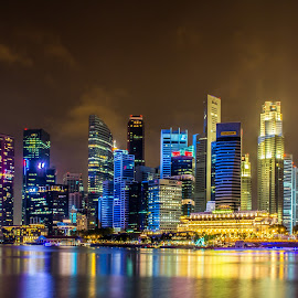 Marina Bay Sands, Singapore by Teck Keong Chu - City,  Street & Park  Skylines ( marina bay sands, singapore )