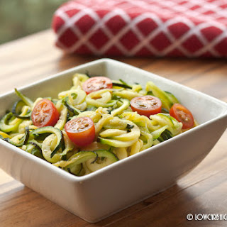 Butter Fried Zoodles