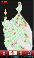 Screenshot of Pompeii Tour Guide