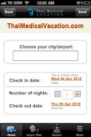 Screenshot of Thai Medical Vacation