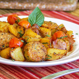 30-Minute Hearty Italian Sausage and Potatoes