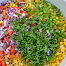 Cold Corn Salad with Some Heat