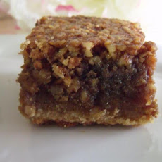 Accidental Pecan Bars