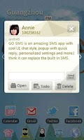 Screenshot of GO SMS Pro Cornner theme