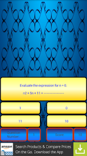 7th Grade-Variable Expressions - screenshot