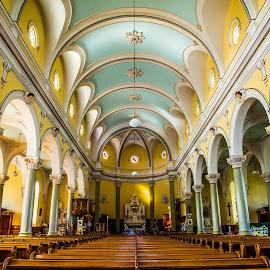 Église Notre-Dame-des-Bois by Bertrand Lavoie - Buildings & Architecture Public & Historical ( church, église, notre-dame-des-bois )