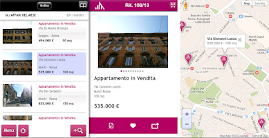 Screenshot of Gruppo Toscano Immobiliare