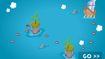 Screenshot of Hungry Fish 3D