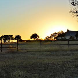 Troy Farm land pasture by Kevin Dietze - Landscapes Prairies, Meadows & Fields