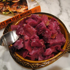 Cook the Book: Mustard-Glazed Red Cabbage with Apple