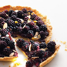 Old Bachelor's Jam and Blackberry Tart