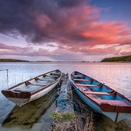 together in silence sunset by Łukasz Rabczyński - Landscapes Sunsets & Sunrises