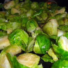 Brussels Sprouts with Shallots and Mustard Seeds