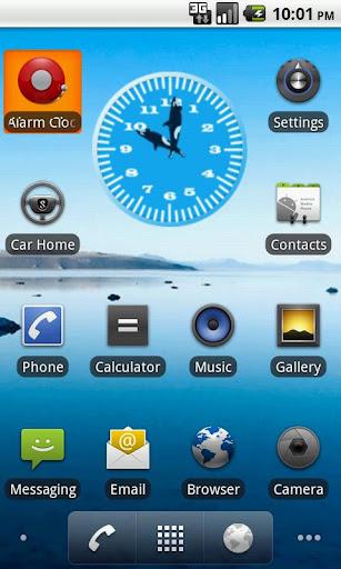Killer Whale 3 Analog Clock