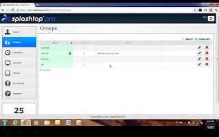 Screenshot of Splashtop Pro App