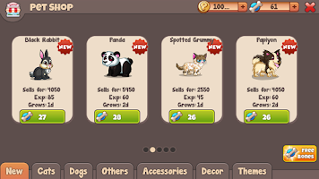 Screenshot of Lovely Pets