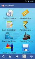 Screenshot of Indian Rail Train & IRCTC Info